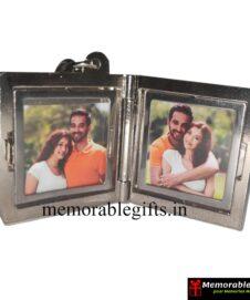 Metal Photo Frame Keychain
